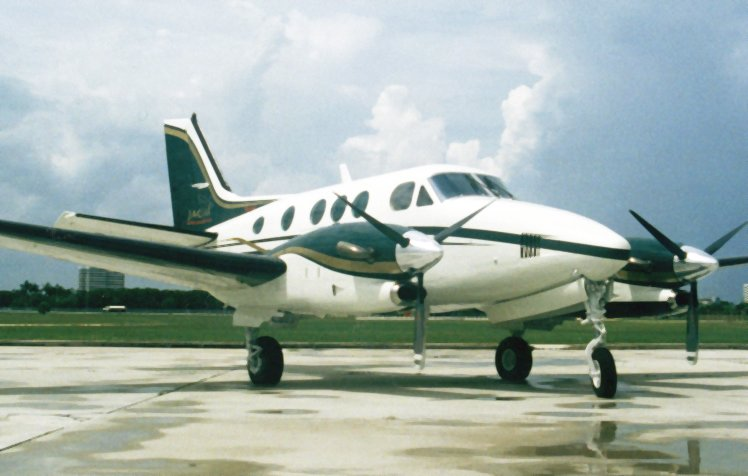 King Air 90 for Air Charter to the Bahamas