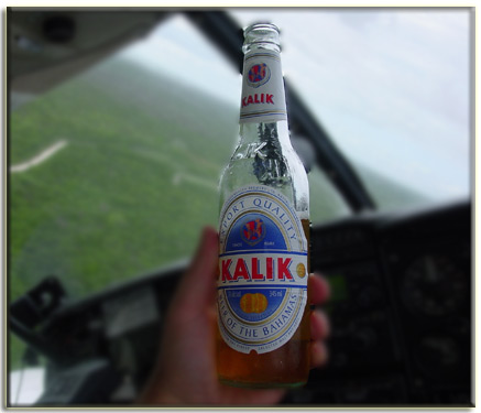 Kalik - the beer of the bahamas